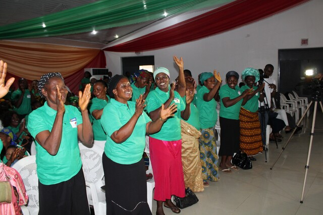 Celebrations at the GTHI's launch of Project Mama Put