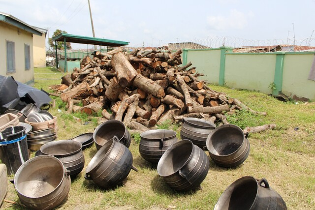 Gas replaces wood following the GTHI donation to the National Youth Service Corps (NYSC)