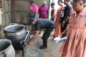National Youth Service Corps (NYSC) receives gas burner from GTHI