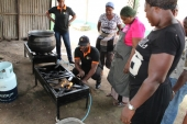 GTHI donates gas burners to the National Youth Service Corps (NYSC)