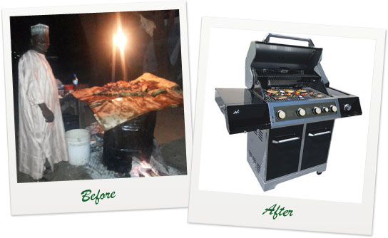 Meat Grill (SUYA): Shift To LPG