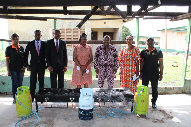 GTHI Donates Cooking Gas Gadgets