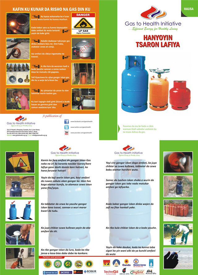 LPG gas safety tips in Hausa